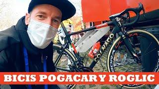 Examen de Zugasti a las bicis de Pogačar y Roglič | Ibon Zugasti
