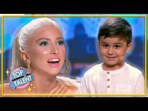 GOLDEN BUZZER | 5 YEAR OLD Geography Genius STUNS On Malta's Got Talent 2020! | Top Talent