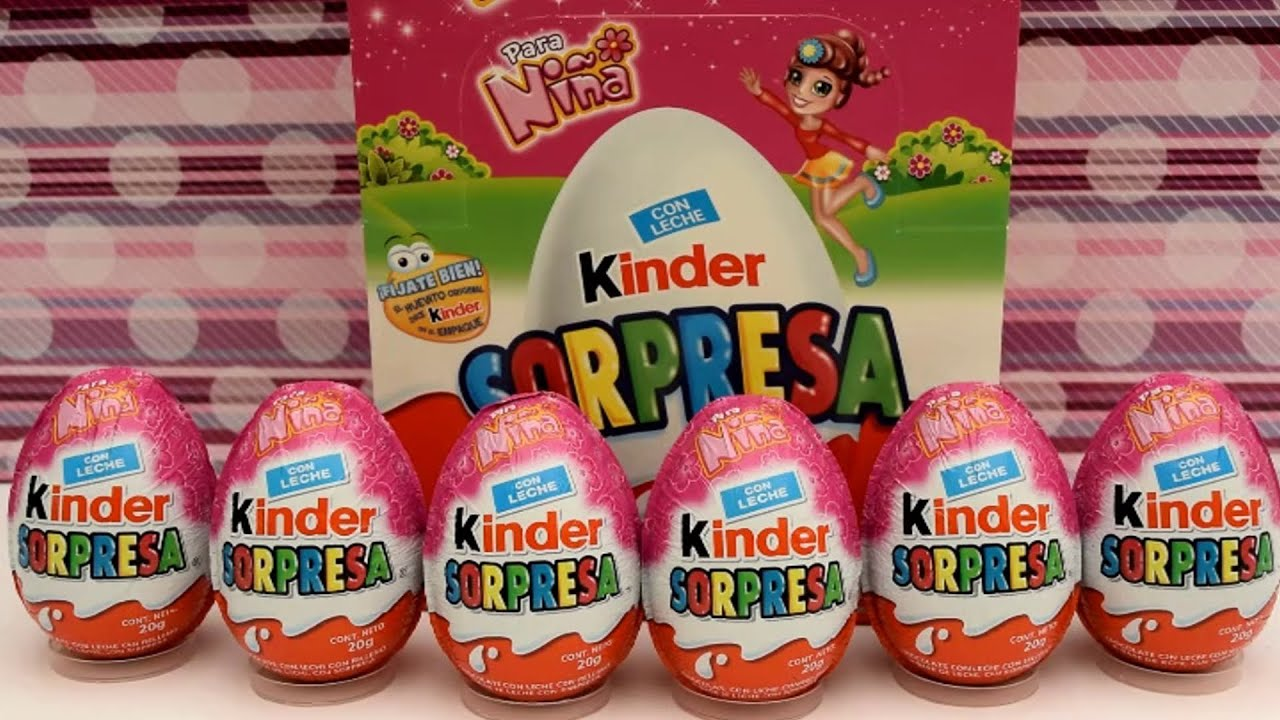 Kinder Egg Natoons Huevos Kinder Sorpresa Para Niñas Surprise Eggs Youtube