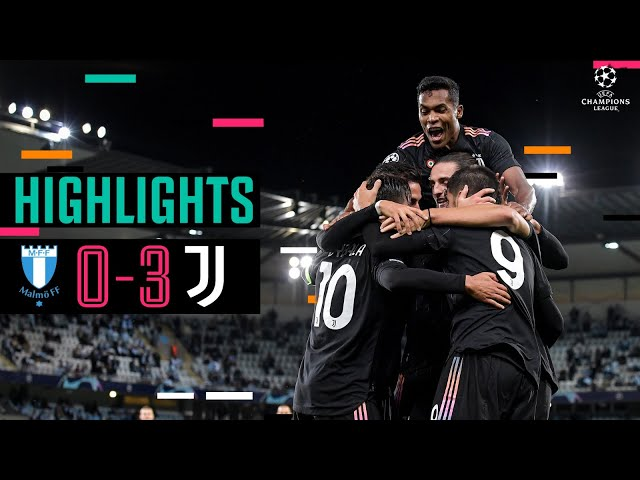 Malmö 0-3 Juventus | Alex Sandro, Dybala e Morata regalano il successo! | UEFA Champions League