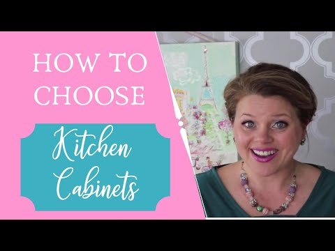 Kitchen Remodel- Pink Tool Girl's tips for choosing kitchen cabinets!