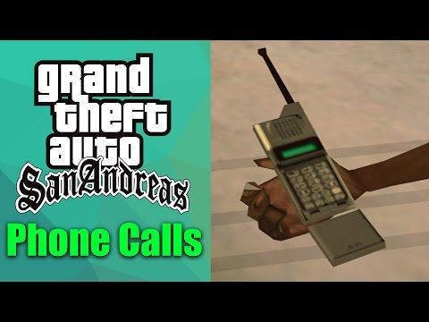 GTA San Andreas - All Phone Calls