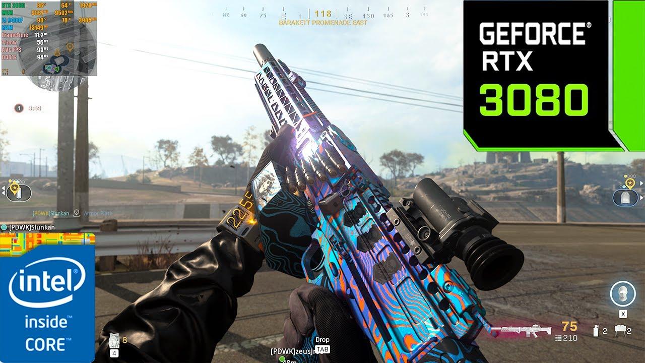 Call of Duty : Warzone Battle Royale | RTX 3080 10GB ( 4K Maximum Settings RTX ON )