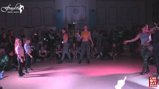 Siberian Dancehall Contest 2015 - 2x2 - 1/4final - Eva & Dasha vs. Sofa & Maru vs. БелоРусы