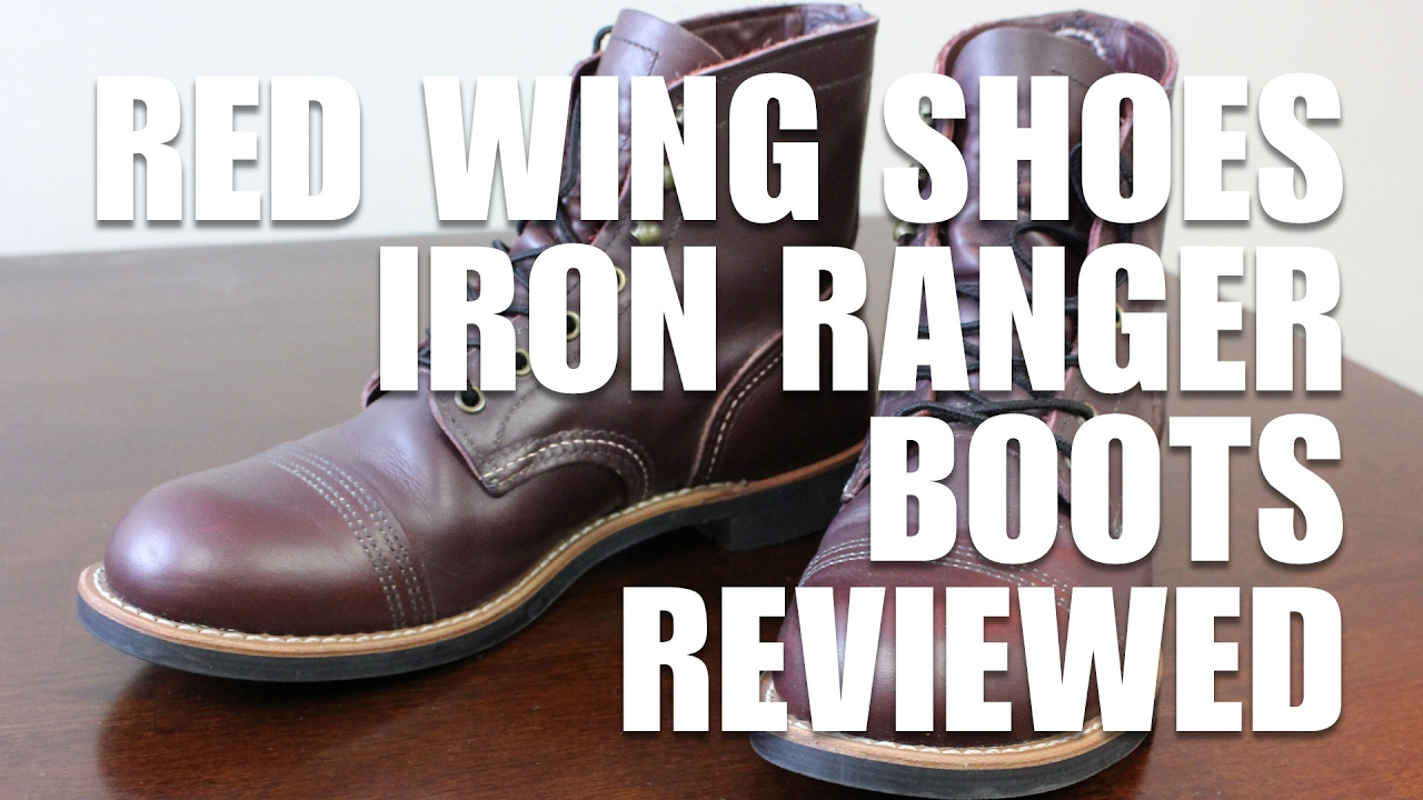 3057564338f Red Wing Iron Ranger Boots Review