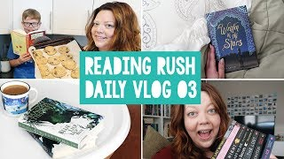 THE READING RUSH VLOGS 💜 Day 03