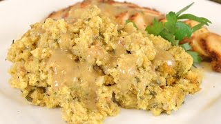 Holiday Series | Sausage & Sage Cornbread Dressing Recipe |Cooking With Carolyn
