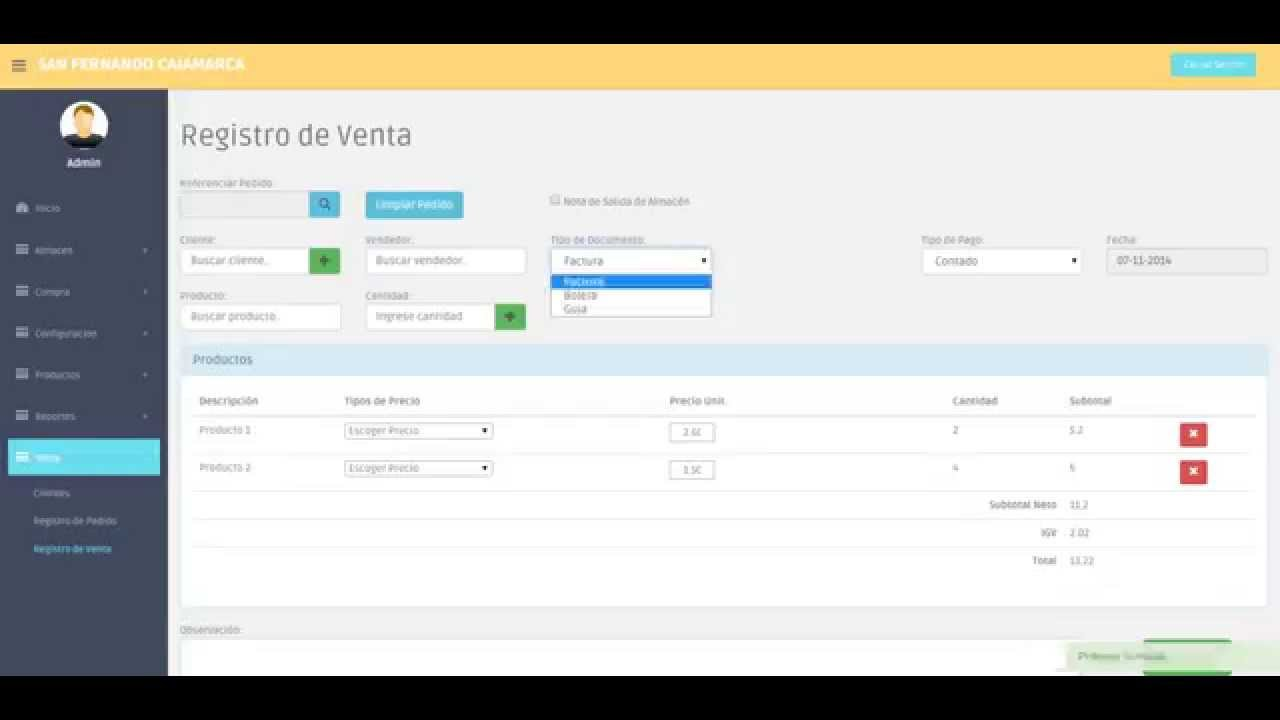 Sistema de comercializaci n en venta youtube - Central de compras web ...