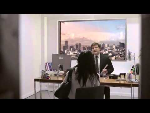 Incredibile candid camera LG Ultra HD 84' TV Commercial ...
