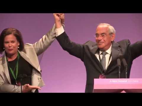 Palestinian leader gets huge welcome at Sinn Féin 2018 Ard Fheis