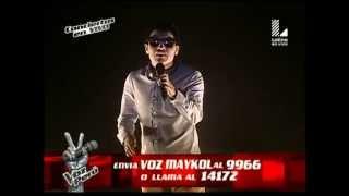 "Maykol Gutiérrez canta ""Si no es contigo""  - Conciertos en vivo - Segunda Temporada"