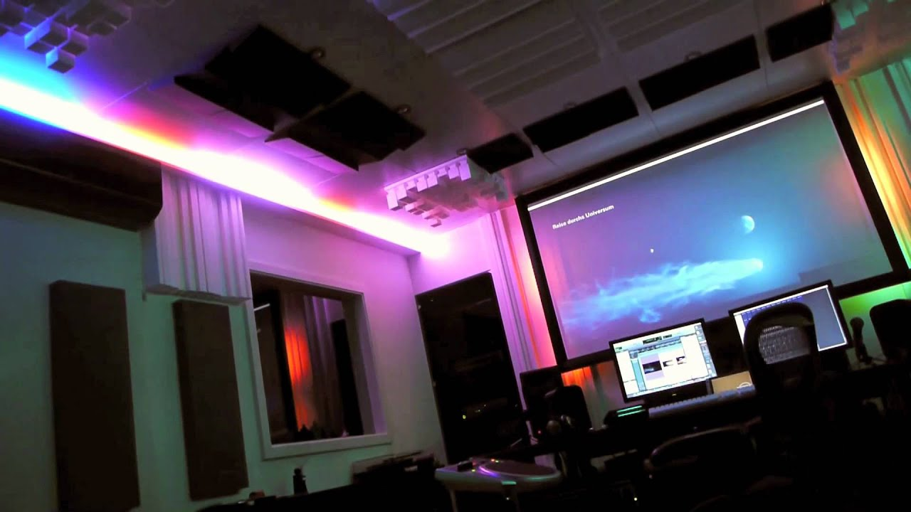 Kobald Recording Studio Php Controlled Led Light System