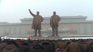 هفتمین سالمرگ رهبر پیشین کره شمالی با حضور هزاران نفر برگزار شد…