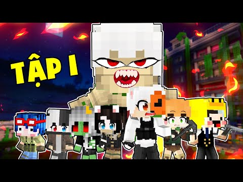 Minecraft 100 Ngày Đại Dịch Zombie - Tập 1 I Kairon Lạc Vào Thế Giới Song Song Zombie