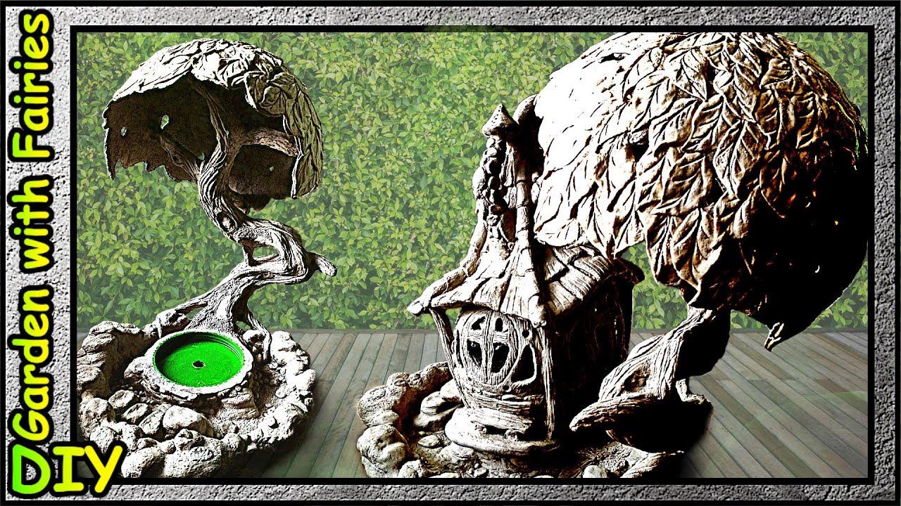 Ландшафт для Домика Озерной Феи. Озеро, камни, живописное дерево.