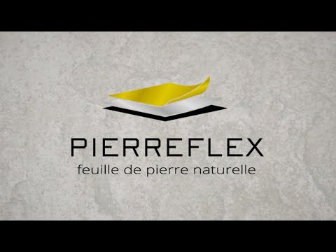 pierreflex feuille de pierre naturelle flexible et d corative youtube. Black Bedroom Furniture Sets. Home Design Ideas