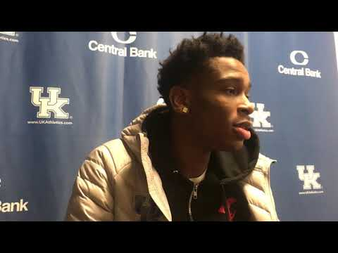 Shai Gilgeous-Alexander post-Mississippi State victory
