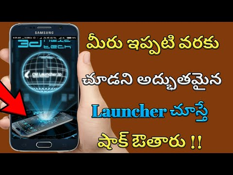 #1 Ranked 3D Next Touch Theme Launcher  Koplayer Android  Cm Launcher Apk In Telugu || KGN Technical