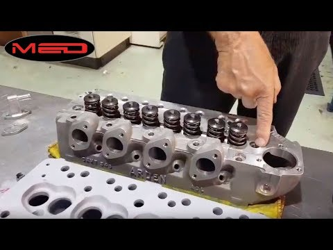 A-Series Cylinder Head Cooling