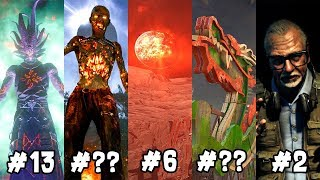 Ranking Every EASTER EGG From WORST TO BEST ~ Black Ops 3 Zombies, BO1, BO2, WAW Zombies