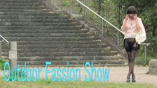 Outdoor Fassion Show (See-through Dress)