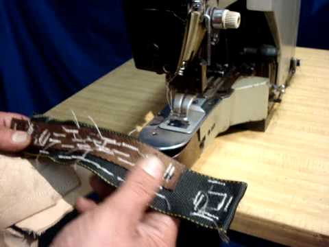 Juki LK40 Bartack Industrial Sewing Machine By Atlas Levy YouTube Adorable Atlas Industrial Sewing Machines