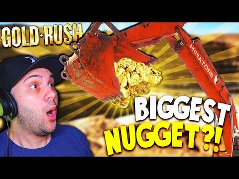 FINDING THE BIGGEST NUGGET AND UPGRADING TO BIG MACHINES! | Gold Rush The Game PC Gameplay