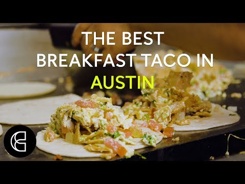 The Best Breakfast Taco in Austin thumbnail