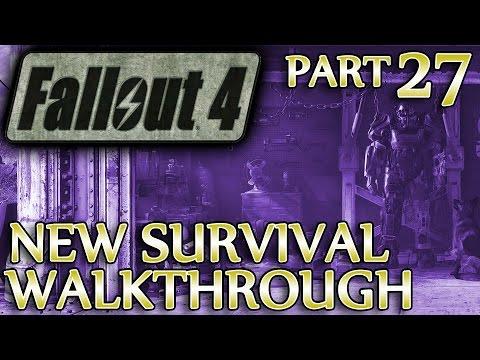 Ⓦ Fallout 4 New Survival Walkthrough ▪ Part 27: Ballistic Weave Achieved