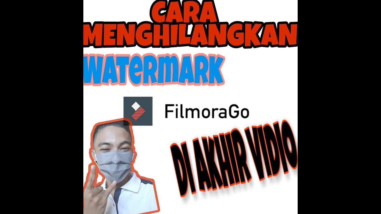 Cara Menghilangkan Watermark FILMORAGO,.Dengan Mudah Di HP - YouTube