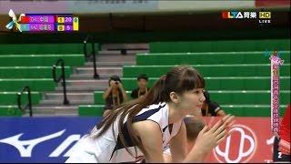 Sabina Altynbekova  - Kazakhstan U19 Asian Women Volleyball Championships in Taiwan 2014
