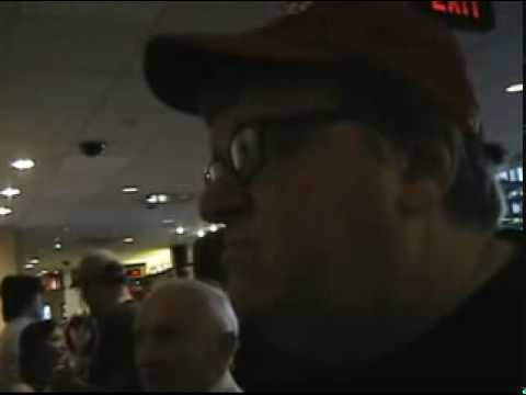 Confronting Michael Moore and Amy Goodman with 9/11 Truth P2