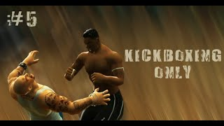 Def Jam FFNY: Kickboxing Only #5 (HARD)