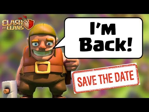 The Builder Is Coming Back On _______ (SPOILER) | Clash of Clans Leak Clashiversary
