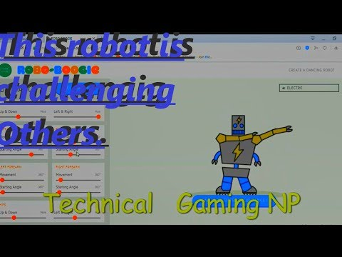 Funny Robot DanceTechnical Gaming NP