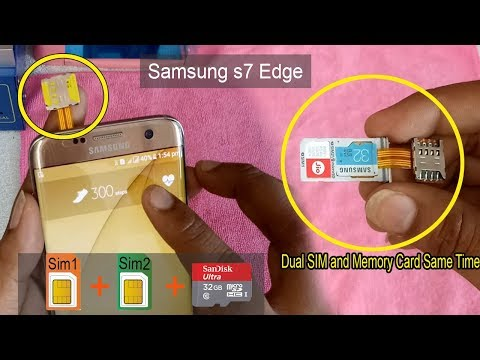 how to put sim card in galaxy s9 plus
