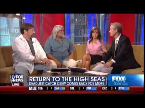 Sarah Palin and Steve Doocy interview the 'Deadliest Catch' crew 6-17-2013