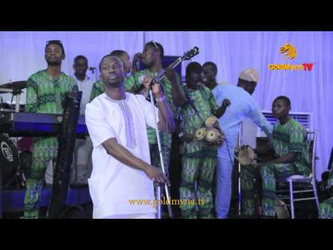 SULE ALAO MALAIKA PERFORMED LIVE AT DR. ADEWALE AYUBA'S DAUGTHER'S WEDDING