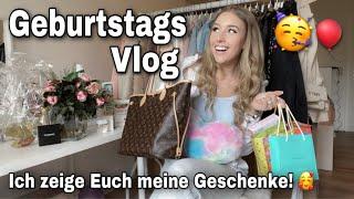 Mein 19. Geburtstag! 😱🥳 Vlog & Geschenke auspacken! 😍 | Cosima ❤️