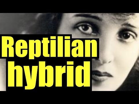 She admits to being Hybrid Reptilian - Jujuolui Kuita of the alien Starseed - NightTerrors #32