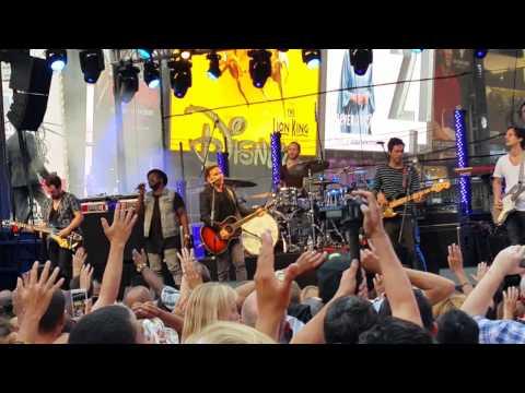 10 000 Reasons Matt Redman Times Square
