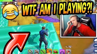 Tfue Plays FAKE Fortnite! (WINS HIS FIRST GAME!) Creative Destruction FUNNY & SAVAGE Moments! thumbnail