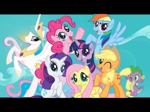 My little pony истории  1-3 выпуск. Мультик из картинок