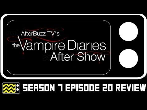 The Vampire Diaries Season 7 Episode 20  w Mouzam Makkar  AfterBuzz TV