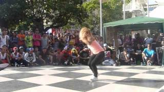 Bgirl Anita / Bgirl Estrellita | Chacaito Kingdom Battle 2013 | SG FILMS