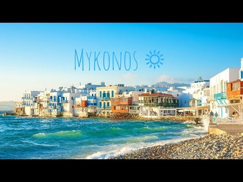 Mykonos - Travel Vlog 15 ( Watch In 4K)