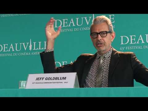 FCAD 2017 : press conference Jeff Goldblum