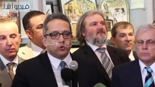 بالفيديو: وزير الأثار افتتاح جزئي للمتحف الكبير واستقبال برديات الملك خوفو