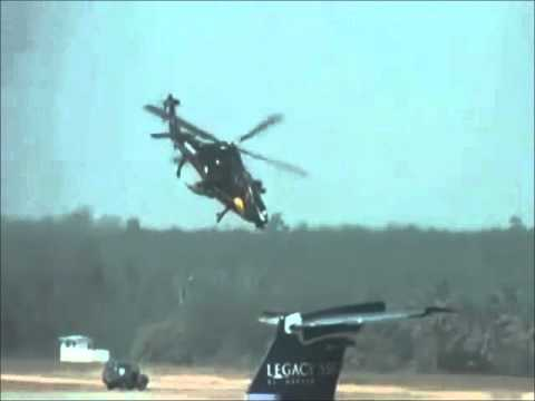 Aero India 2011 - HAL LCH Light combat helicopter performance display - part 2