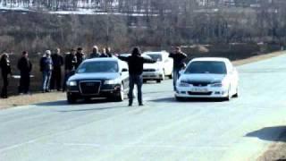 Audi A6 quatro 3 2 vs Honda Accord EuroR ч1